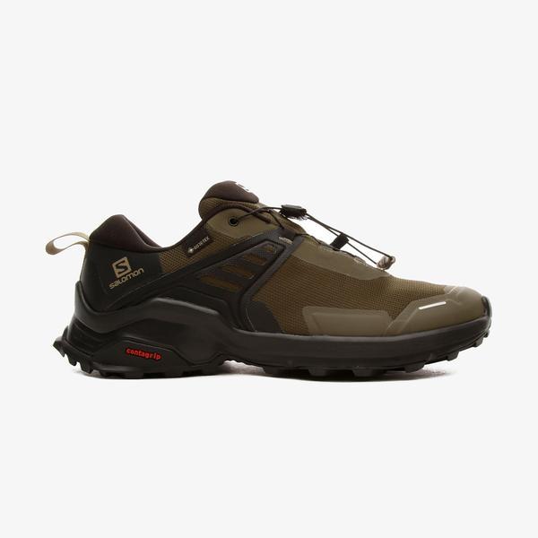 Salomon X Raıse Gore-Tex Erkek Yeşil Outdoor Ayakkabı
