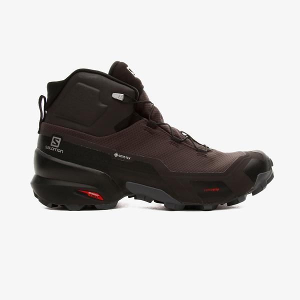 Salomon Cross Hike Mid Gore-Tex Erkek Kahverengi Outdoor Ayakkabı