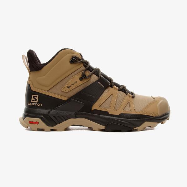 Salomon X Ultra 4 Mid Gore-Tex Erkek Kahverengi Outdoor Ayakkabı