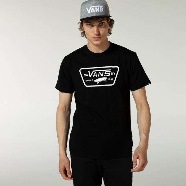 Vans Full Patch Erkek Siyah T-Shirt