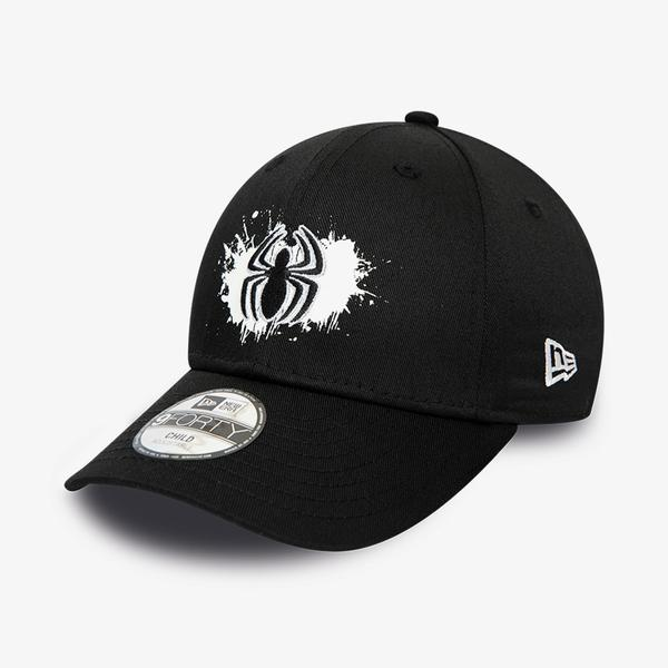New Era Chyt Paint Base 9Forty Spiman Unisex Siyah Şapka