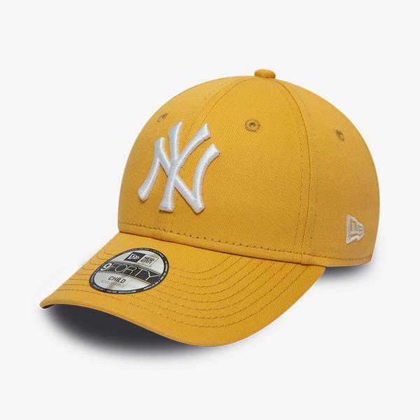 New Era Chyt League Essential 9Forty Unisex Altın Şapka