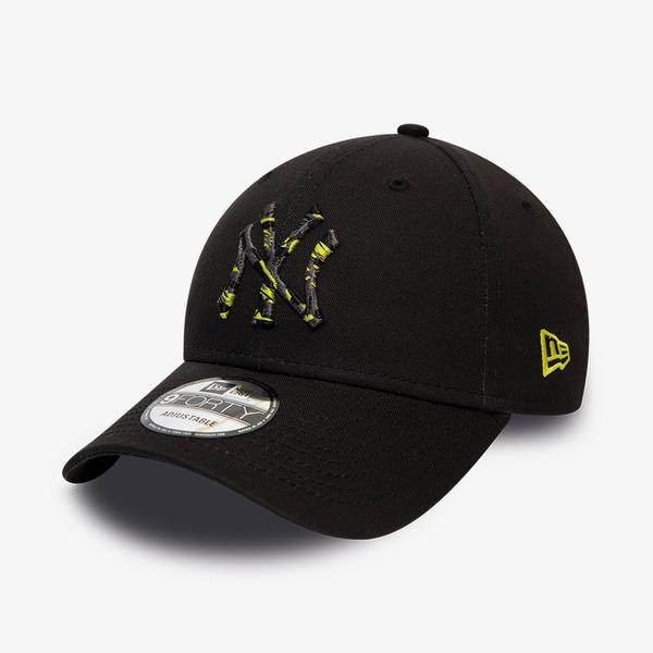 New Era Camo Infill 9Forty Unisex Siyah Şapka