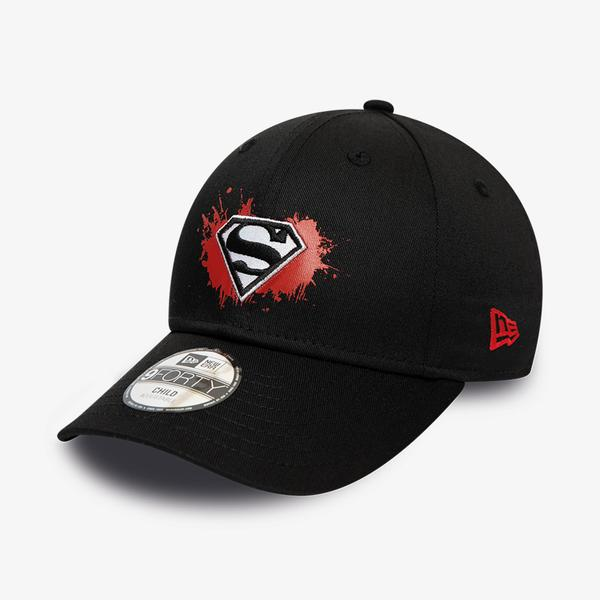 New Era Chyt Paint Base 9Forty Supman Unisex Siyah Şapka