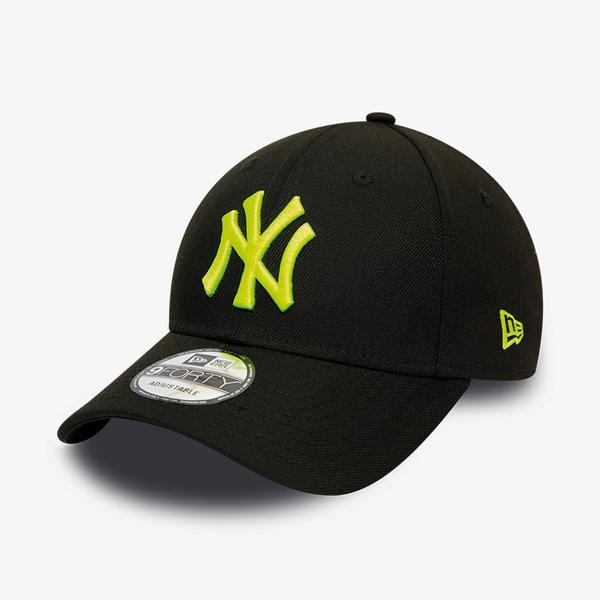 New Era Pop Logo 9Forty Unisex Siyah Şapka