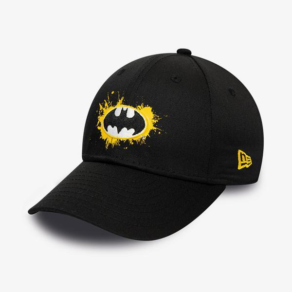 New Era Chyt Paint Base 9Forty Batman Unisex Siyah Şapka
