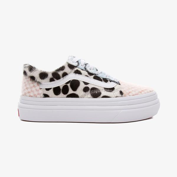 Vans UA Super ComfyCush Old Skool Unisex Siyah Sneaker