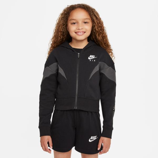 Nike Sportswear Air FIT Hoodie FZ Çocuk Siyah Sweatshirt