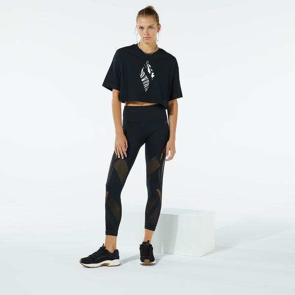 Skechers W Diamond Kadın Siyah T-Shirt