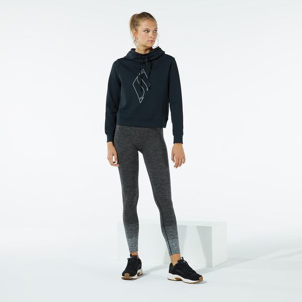 Skechers W Big Logo Hoodie Kadın Siyah Sweatshirt