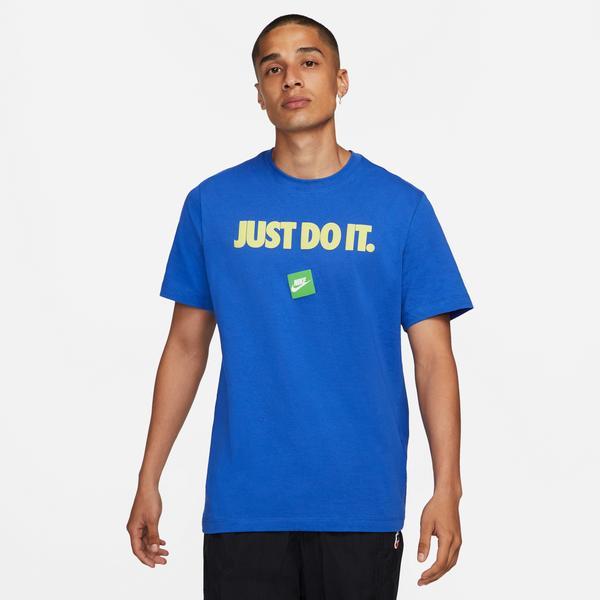 Nike Erkek Mavi T-Shirt