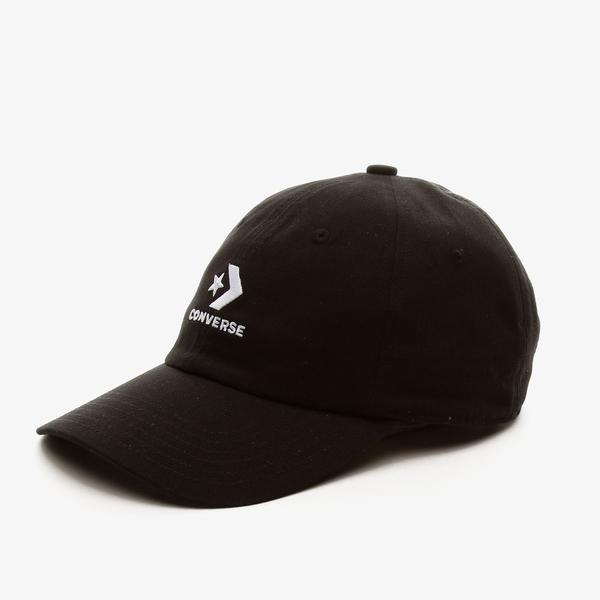Converse Lock Up Baseball Unisex Siyah Şapka