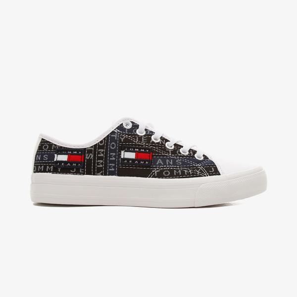 Tommy Hilfiger Premium Label Kadın Mavi Spor Ayakkabı