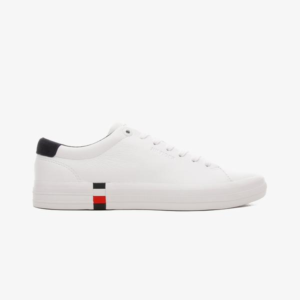 Tommy Hilfiger Premium Corporate Erkek Beyaz Spor Ayakkabı