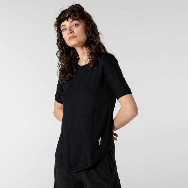 Skechers Kadın Siyah T-Shirt