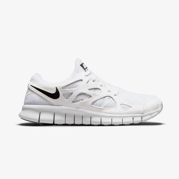 Nike Free Run 2 Erkek Beyaz Spor Ayakkabı