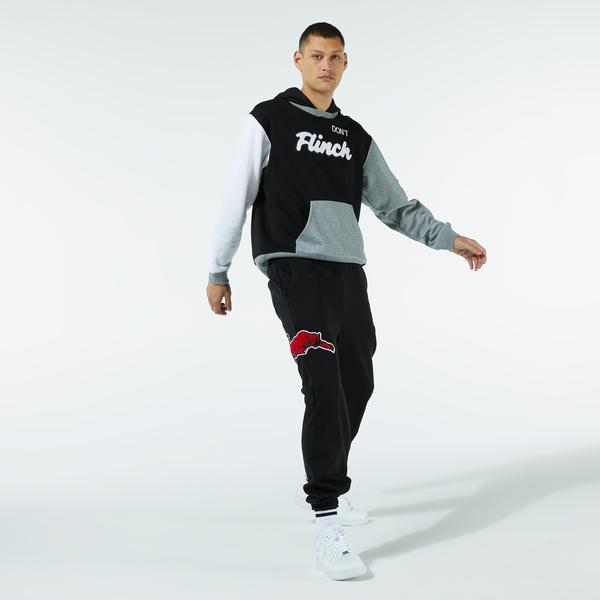 Puma Combine Erkek Siyah Eşofman Altı